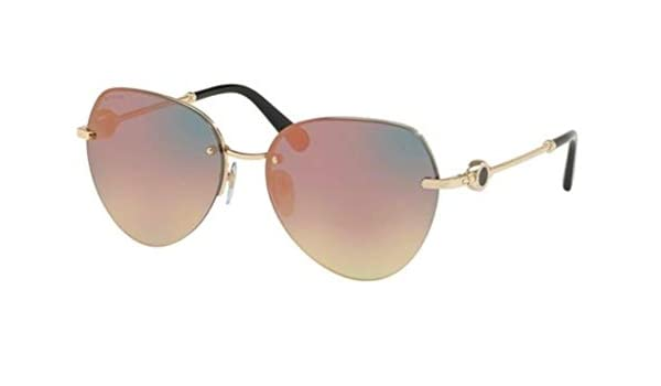 3941c618f24ec8 Lunettes de Soleil Bvlgari BVLGARI BVLGARI BV 6108 PALE GOLD GREY ROSE GOLD  femme  Amazon.fr  Photo   Caméscopes
