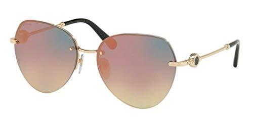 Sonnenbrillen Bvlgari BVLGARI BVLGARI BV 6108 PALE GOLD/GREY ROSE GOLD Damenbrillen