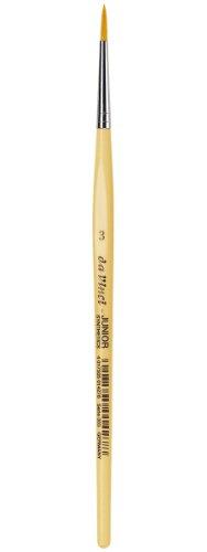 daVinci GH3033 Junior Synthetics Malerpinsel, rund Serie 303, Größe 3