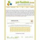 Preisvergleich Produktbild AUKTION SYSTEM - PD-TEXTLINK SCRIPT