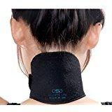 Nackenbandage mit selbstwärmenden Kristallen zur Schmerzlinderung,  reduziert Schwellungen und Entzündungen an Nacken und Schultern