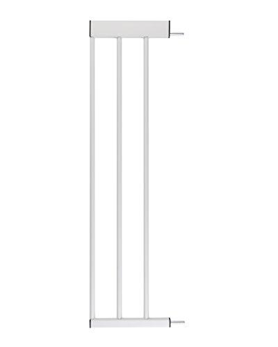 ♥ Zubehör für Babyschutzgitter von BOMI | Größen: 10-70 cm | Verbreiterungen Türschutzgitter | Extensions Klemmgitter für Babys, Kleinkinder & Tiere Türgitterverlängerung in Weiß | 20 cm Verlängerung