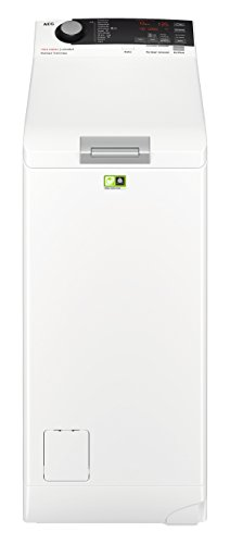 AEG L7TE74275 Waschmaschine Toplader / Energiesparender Waschvollautomat A+++ / Mit ProSense- und ProSteam-Technologie / 40 cm breit mit 7 kg Fassungsvermögen