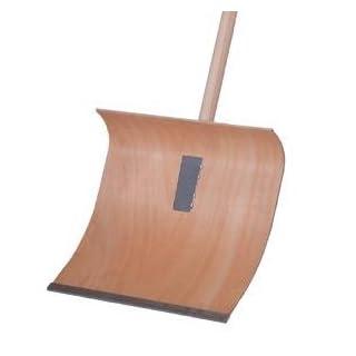 ADLUS Schneeschieber Holz 40 cm