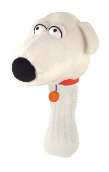 Brian Hybrid Golf Headcover Family Guy Winning Edge Designs