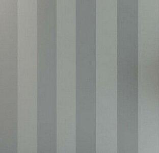 5.3 m² 10 m Rolle der modernen, einfachen Stil Beige Weiß beige-weiße Streifen gestreifte Tapete Wohnzimmer Schlafzimmer Tapete Wandbespannung, Grau, 5,3 qm. -