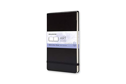 Moleskine Taccuino Watercolour Acquarello, Medium, Nero
