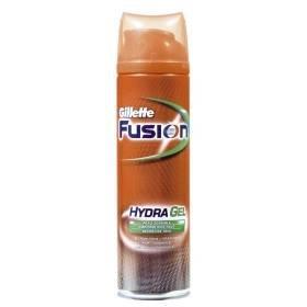 Gillette fusion gel à raser hydragel peau sensible 200ml