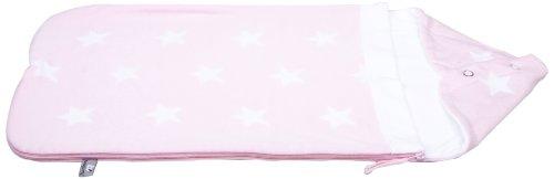 Baby\'s Only Fußsack Babyschale Autositz Sterne gestrickt, baby rosa