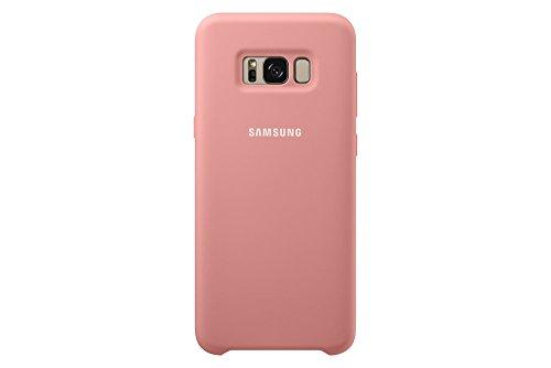 Samsung S8+ Silicone, Funda para smartphone Samsung Galaxy S8 Plus, Rosa (Pink)- Version española