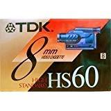 HS6060Minuten High Standard 8mm Video Kassetten Tape (2Pack) -
