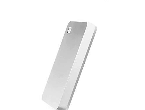 42 - Disco Duro Externo 2.5 Alta Velocidad Memoria Inteligente WiFi Disco Duro MóVil Disco De Nube Privada Router InaláMbrico Refuerzo De WiFi Acceso Remoto (1TB, Plateado)