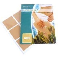 Fucus + Slimming Patch | Abnehm-Pflaster zur Förderung der Fett-Verbrennung, Stoffwechsel-Anregung und Förderung des Abnehmens | Natürlicher Fat burner mit Acai, Fucus und Grünem Tee | Optimale Gesundheit und Schönheit