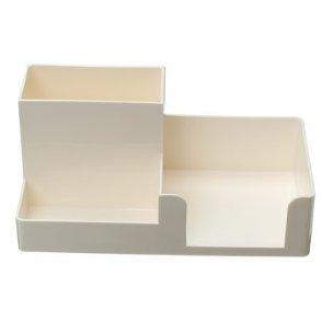 Tutoy 20.4 x 9,9 x 9,1 cm Creative Multi-funktionell Pen Halter Container Bleistifthalter Briefpapier Topf Container - Weiß