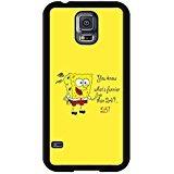 Design Samsung Galaxy S5I9600Fall Hipster Spongebob Zitate Bild Schutzhülle (Spongebob Bilder)