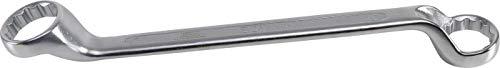 BGS 30246 | Doppel-Ringschlüssel, gekröpft | SW 46 x 50 mm