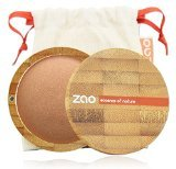 ZAO Mineral Cooked Powder 341 kupfergold Bronzer Bräunungspuder schimmernd, in nachfüllbarer Bambus-Dose (bio, Ecocert, Cosmebio, Naturkosmetik)