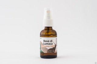 Bave d'Escargot Pure à 100%–pour visage cou et Decolletè–Efficace contre acné et bosses–Anti-rides et antietà -30ml–Fabriqué en Italie