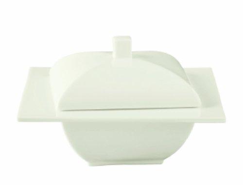 Ritzenhoff pura di alta qualità di Cina di osso Sugar Bowl con coperchio