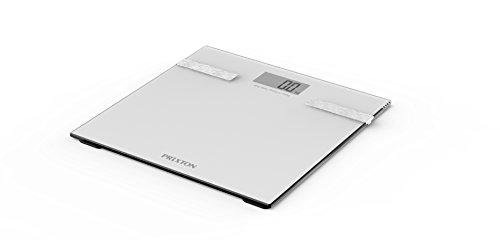 Prixton BC200 - Báscula de baño, Bluetooth 4.0, LCD