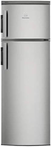 Electrolux EJ2302AOX2 Frigorifero Doppia Porta A+, 223 Litri, 40 Decibel, Argento