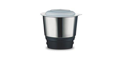 Bajaj Easy 500-Watt Mixer Grinder with 3 Jars (White)