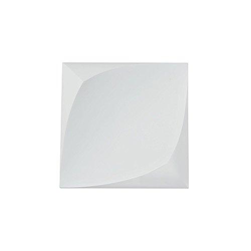 Applique Murale, LED Style Moderne, design ultramoderne, Armature en forme rectangulaire en platre couleur blanc, pour le Salon, le Bureau, couloir, cuisine, sejour, 280 lumen, 3W 3000k 220V
