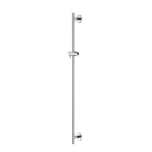 Steinberg 120 1624 Hochwertige 900 mm Dusch-Stange für das Bad Brausestange mit Gleiter Chrom