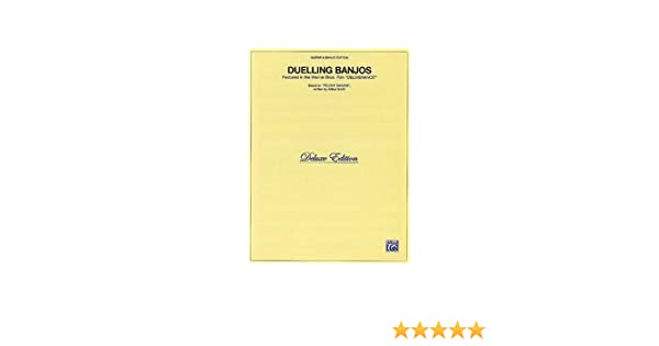 Duelling Banjos Sheet Music From Deliverance Amazon Books