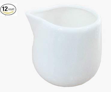 3 Creamer (1Dz Super Weiß Porzellan Creamers 8 oz (3