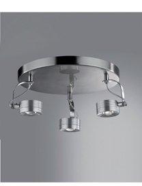 HEITRONIC LED DECKENLEUCHTE TECHNO 3x5W WARMWEISS von HEITRONIC auf Lampenhans.de