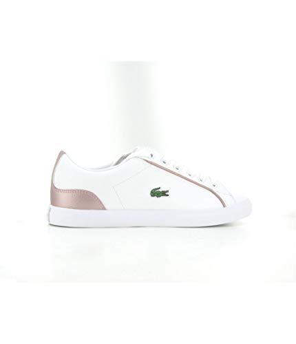 Lacoste Lerond 319 2 CUJ Sneaker Madchen Weiss/Rose - 38 - Sneaker Low