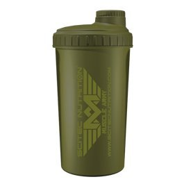 Scitec nutrition–muscle army–shaker, verde 700ml