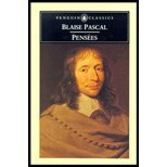 [ [ [ Pensees (Revised)[ PENSEES (REVISED) ] By Pascal, Blaise ( Author )Dec-01-1995 Paperback - Penguin Books - 01/12/1995