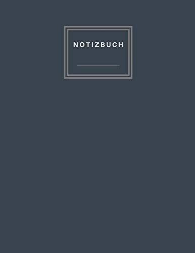 Notizbuch: Carbon Black and Blue mix Color Cover Blank and Numbered 365 Pages Size 8.5 x 11 - A4 Size (Journal, Notes, Notebook, Diary, Sketchbook, Composition Book) Soft Flexible (Blank Carbon)