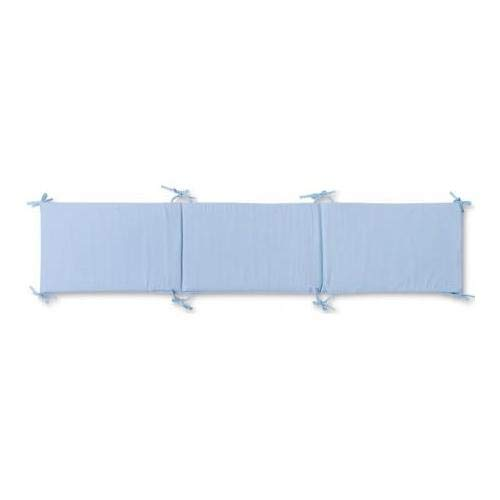 Pirulos 43300003 - Protector para cuna, algodón, color azul,