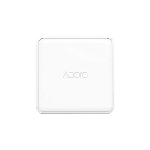Aiming MFKZQ01LM Smart Home Cubo mágico 6 acciones de operación del Controlador inalámbrico Inteligente de Recambio para Xiaomi Dispositivo Inteligente