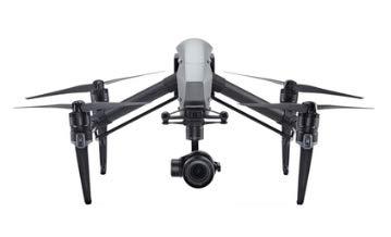 DJI Inspire 2 Drone per Uso Cinematografico, Nero/Argento