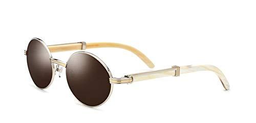 LKVNHP New Hochwertige Klassische Carter Sonnenbrille Männer Weiße Brille Rahmen Shades Marke Sonnenbrille Oval Brille03