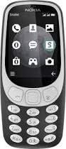 Nokia 3310(TA-1006) 3G Dual SIM-128MB 64MB RAM 3G Charcoal