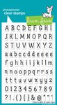 Claire's Abcs Clear Stamp Set (Lawn Fawn) by Lawn