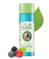 Biotique Bio Berry Sensitive Mommy and Baby Bubble Bath, 190 ml