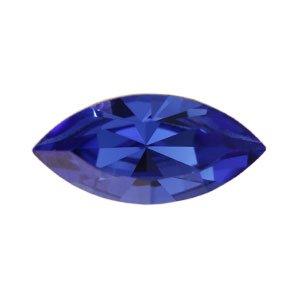 Swarovski - Navette Kristall Stein Sapphire 15mm (4)