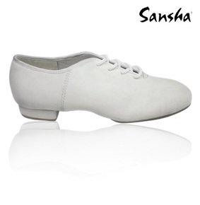 Sansha js50l Avenue Scarpe di jazz Donna bianco