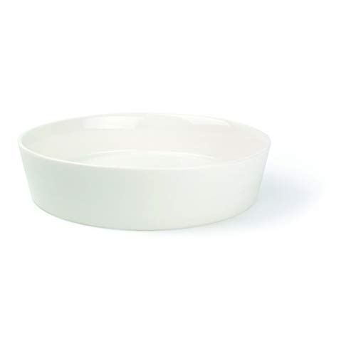 Visiodirect Lot de 4 Assiettes Creuses Gust'o en Porcelaine - 100 cl