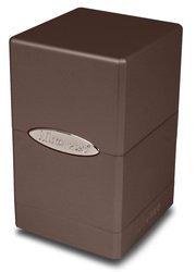 Ultra Pro 84602 - Deck Box - Satin Tower, Metallic Dark Chocolate