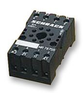 SOCKET, DIN, 11 PIN MT78750 By TE CONNECTIVITY 11-pin Relay Socket
