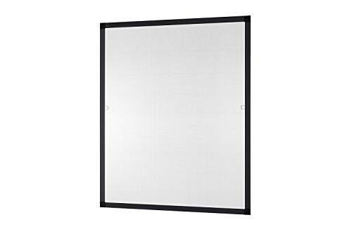 Insektenschutz Fliegengitter Fenster \'FLEX\' flächenbündig flächenversetzte Fenster kürzbar 100 x 120 cm & 130 x 150 cm