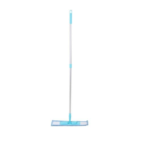 Cleanova Premium FPWDM 1 Flat Wet and Dry Mop (Blue)