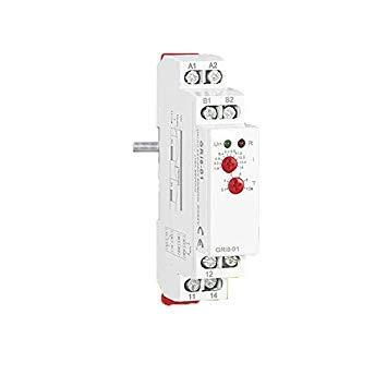 Sellify Elektrogeräte auf DIN-Schienen, Überwachungsrelais, Industrierelais, Schutz gegen Überstrom, Relais Gri8, Größe: 8 (0,8 - 8 A): 8 (0,8 - 8 A) -